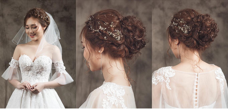 địa chỉ học làm tóc cô dâu tại TPHCM