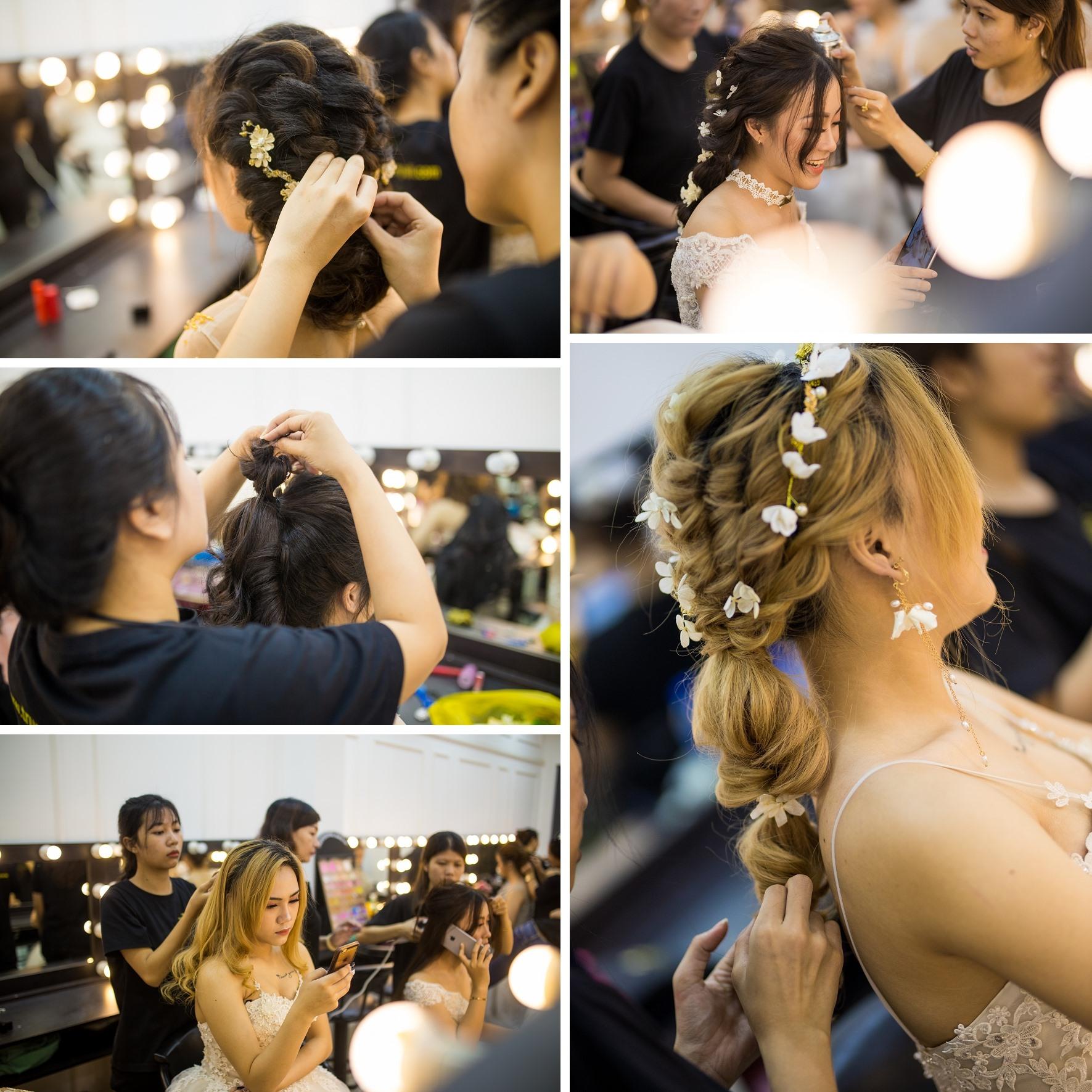 Học bới tóc cô dâu chuyên nghiệp