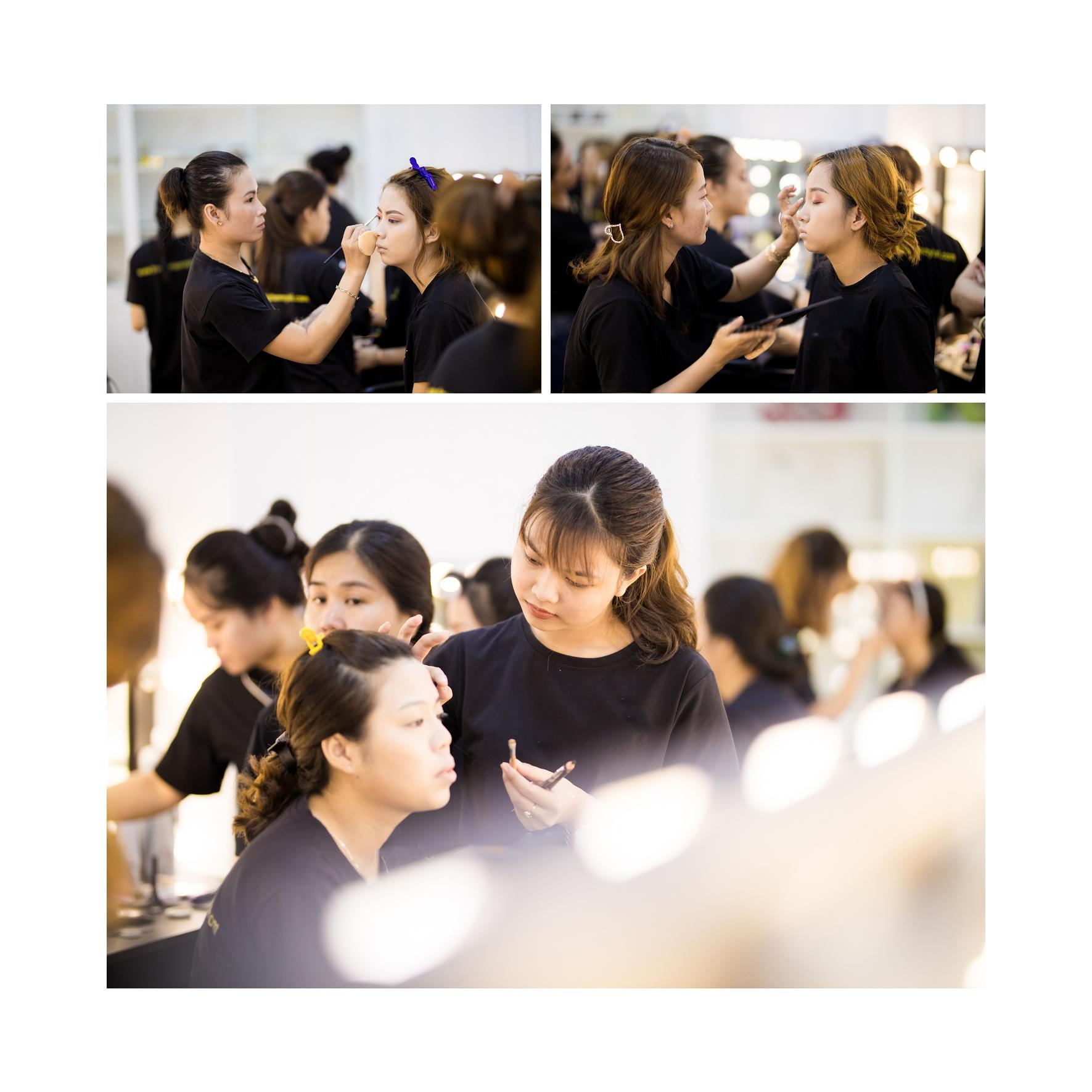 Khoá học bới tóc cô dâu tại Sài Gòn