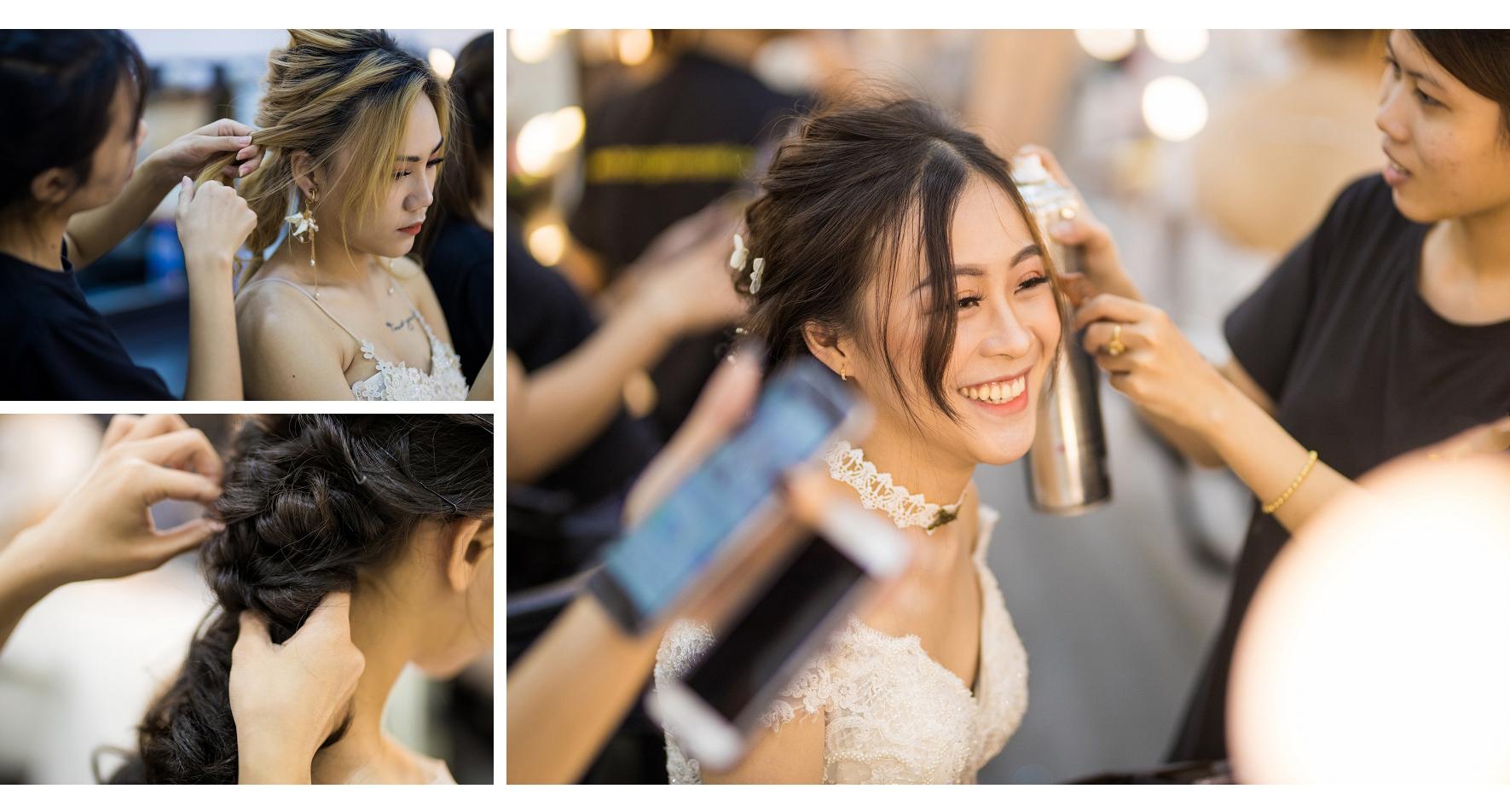 Khoá học bới tóc cô dâu tại TPHCM