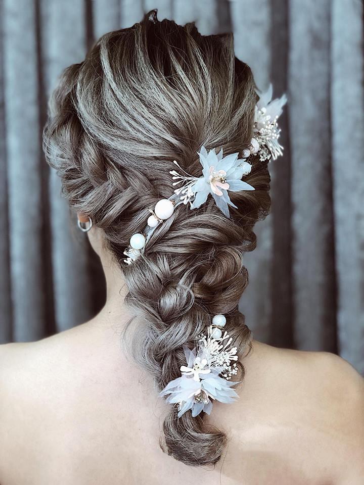 học làm tóc cô dâu đẹp