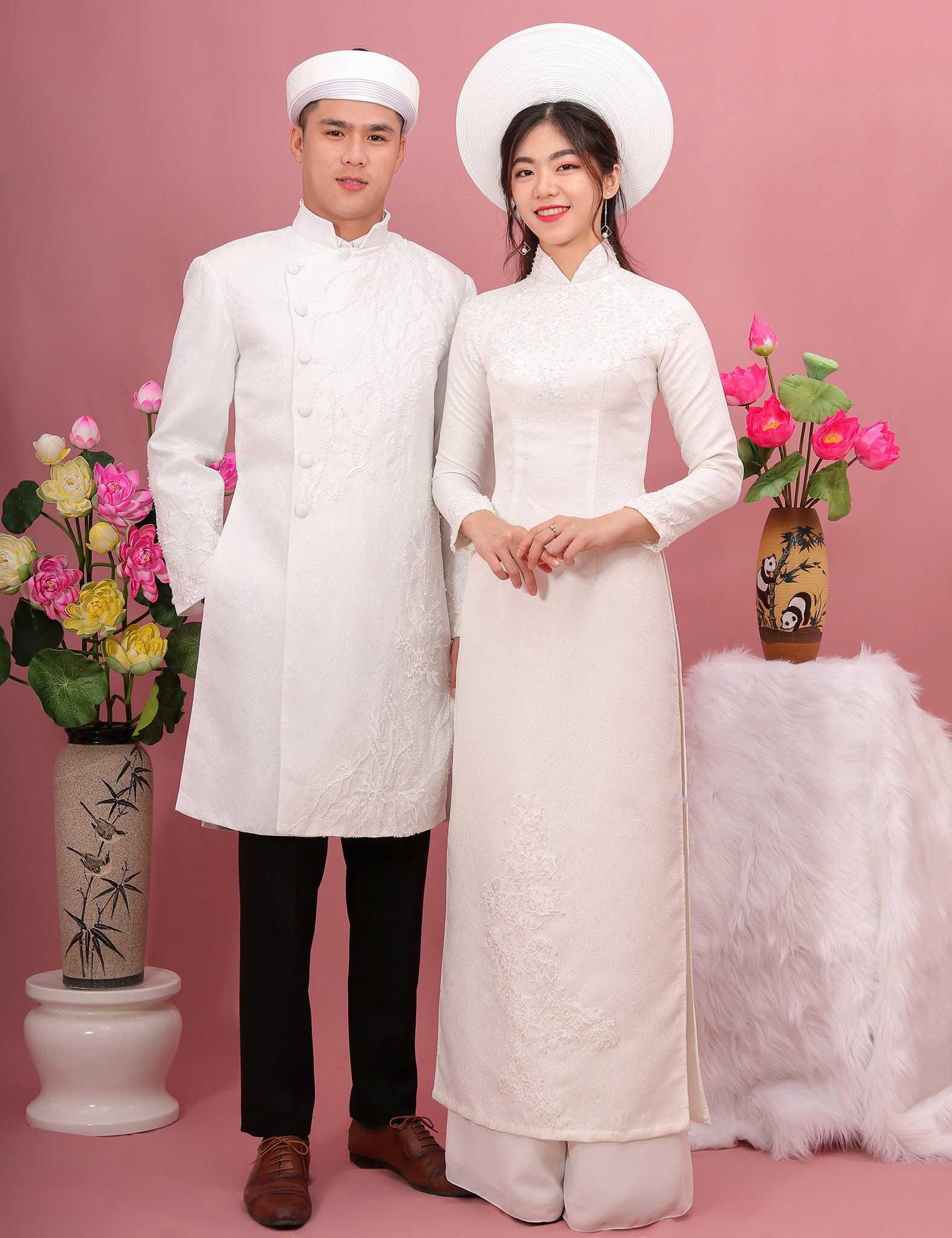 thuê áo dài cưới nam nữ