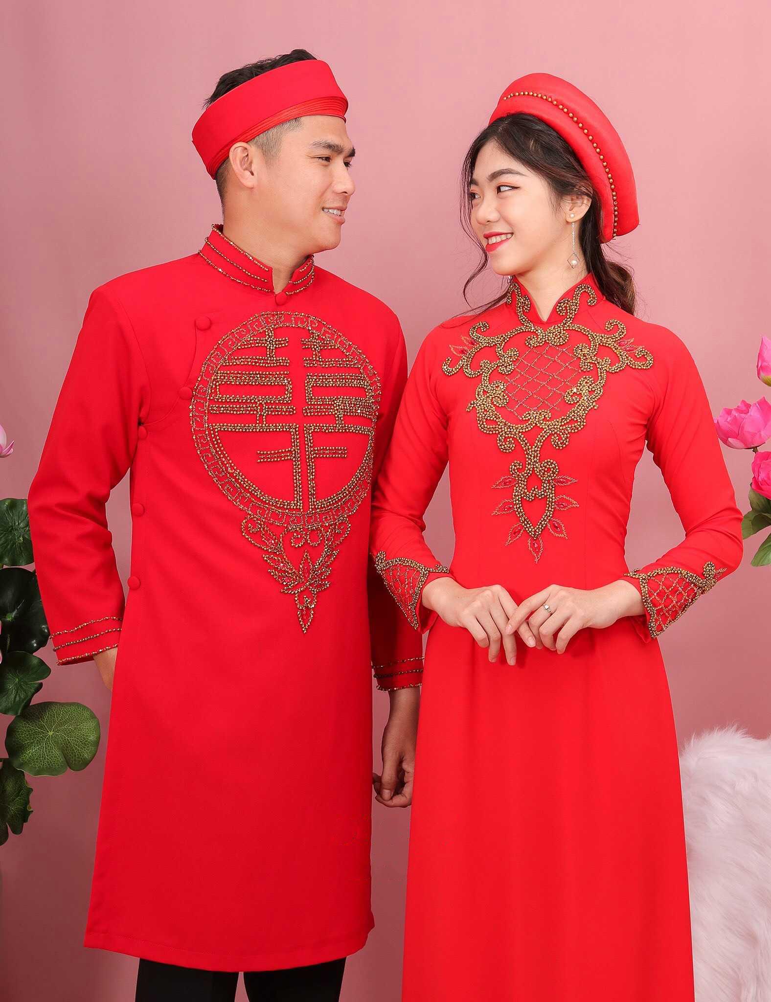 thuê áo dài cưới ở TPHCM