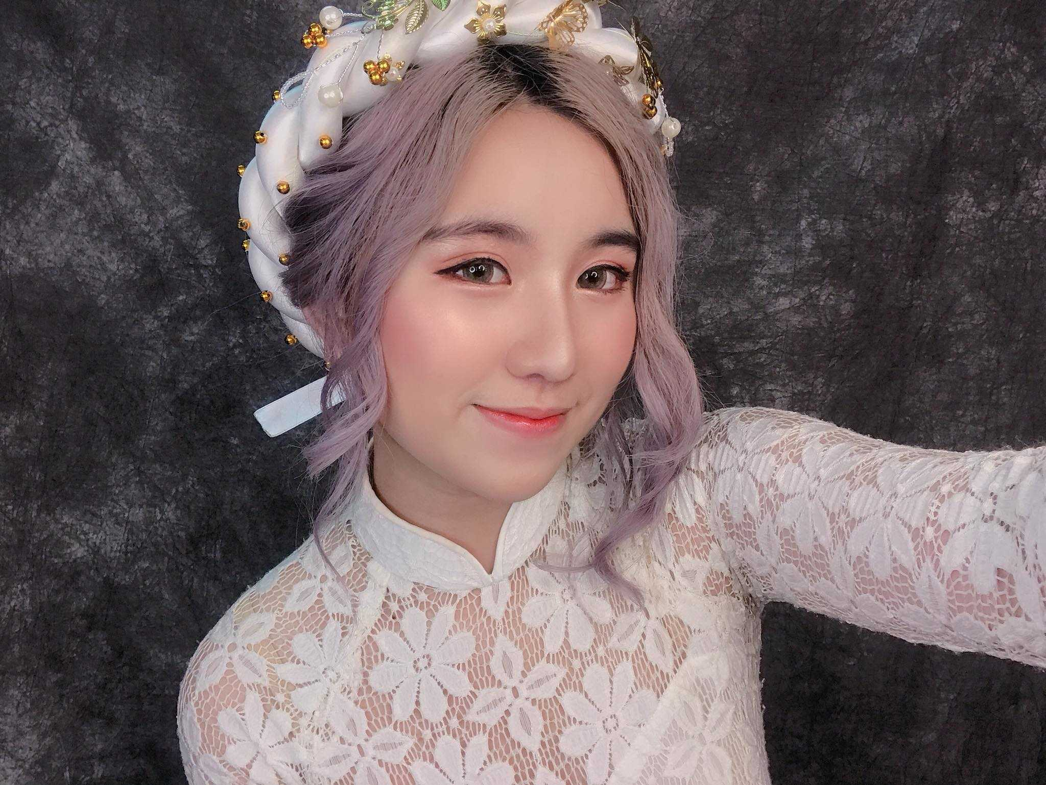 trang điểm cô dâu tone hồng đào
