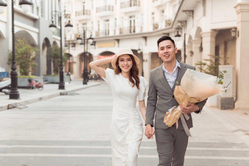 chụp hình cưới đơn giản