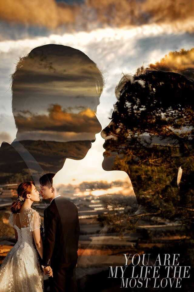 chụp hình cưới nghệ thuật