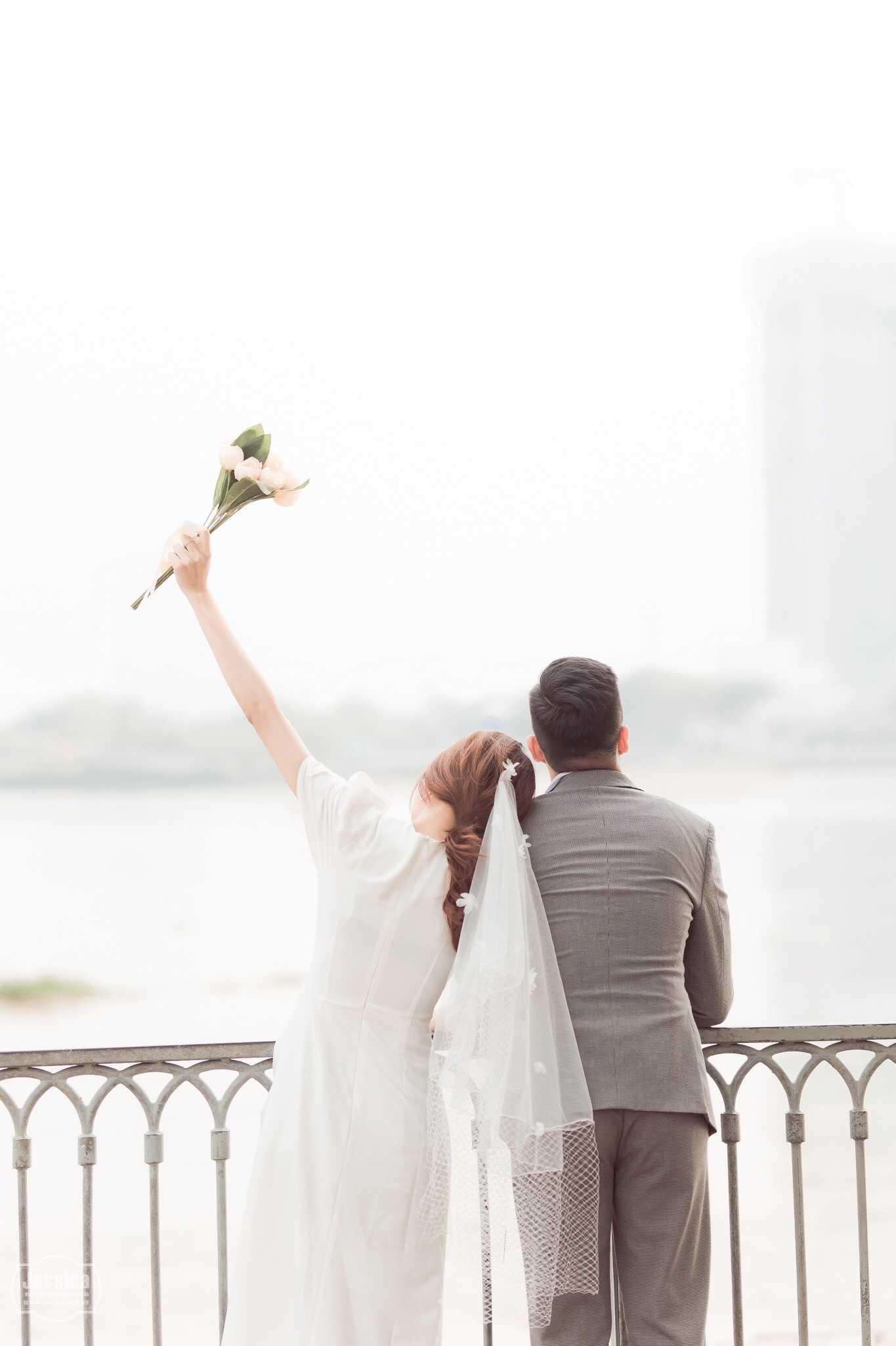 chụp hình cưới ở Sài Gòn