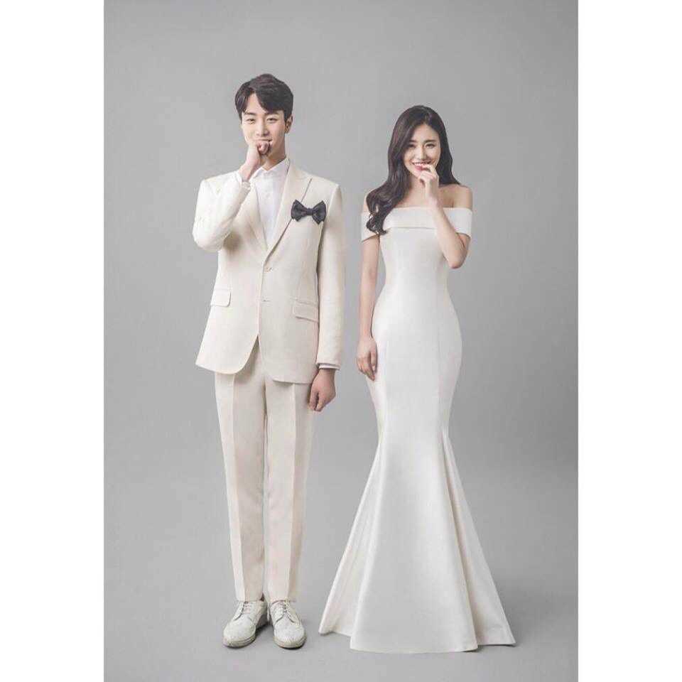 chụp hình cưới phông Hàn Quốc