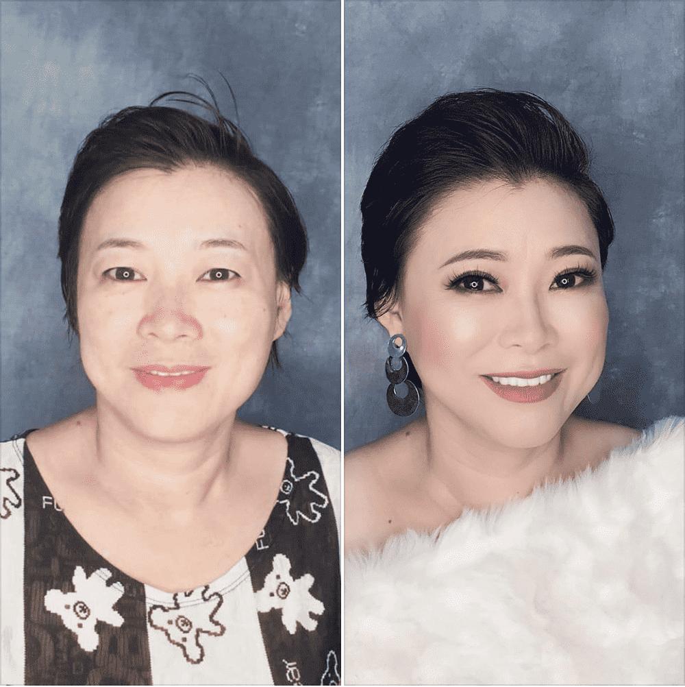 makeup chụp hình