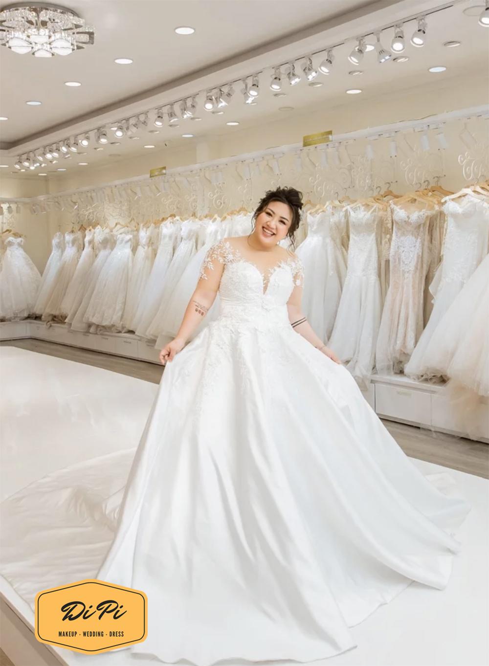 áo cưới cho bà bầu 9 tháng