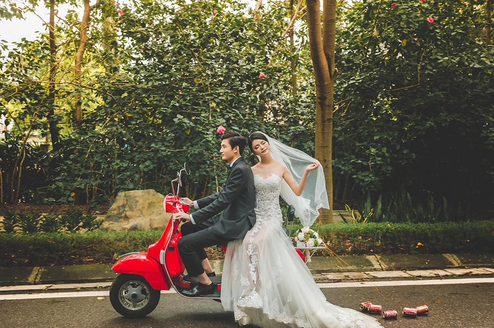 áo cưới màu nào lên hình đẹp