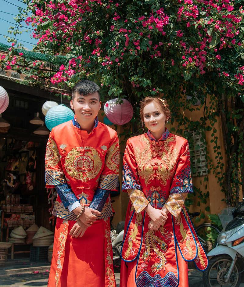 áo cưới trung hoa