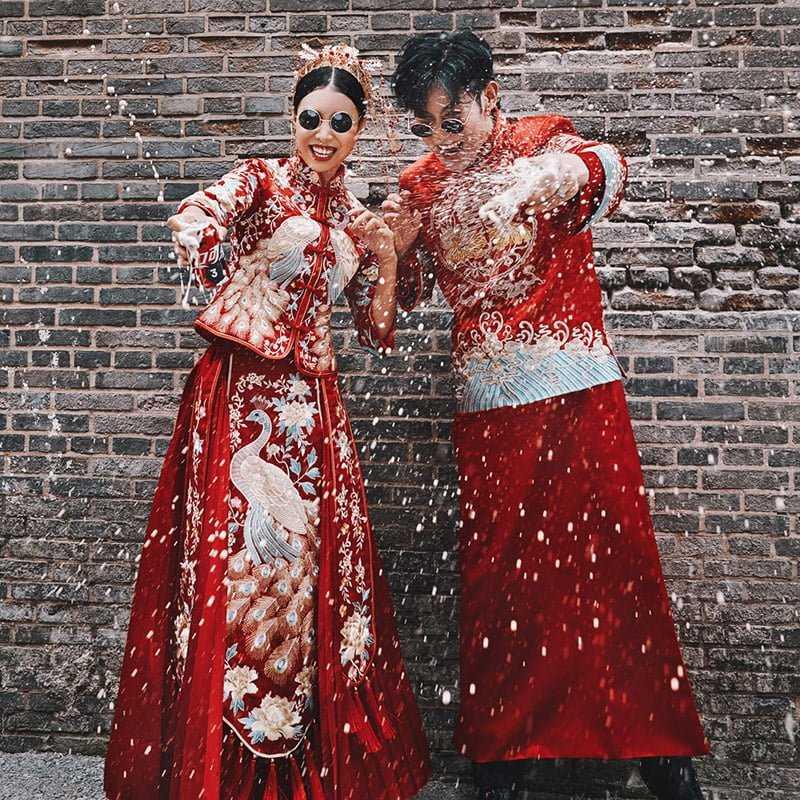áo cưới trung quốc