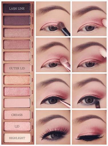 cách makeup mắt