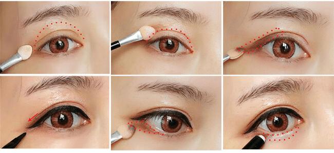 cách trang điểm mắt đơn giản