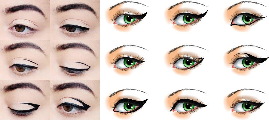 cách vẽ mắt