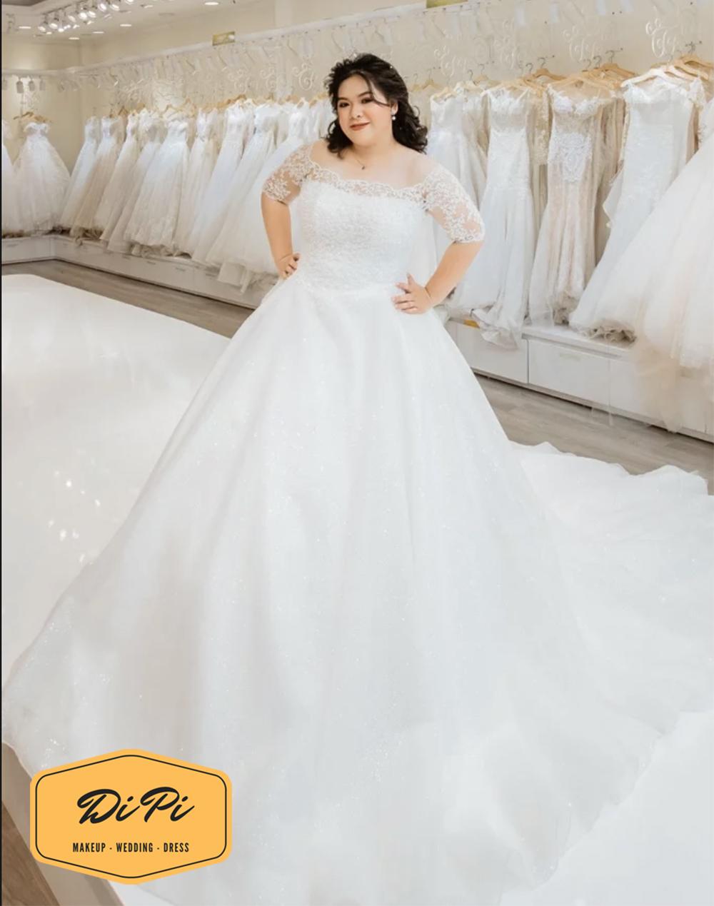 cửa hàng cho thuê áo cưới big size