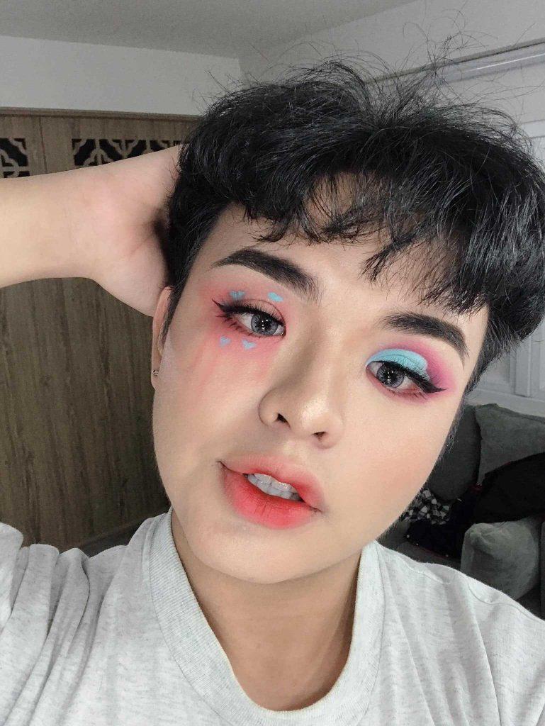 học makeup nam