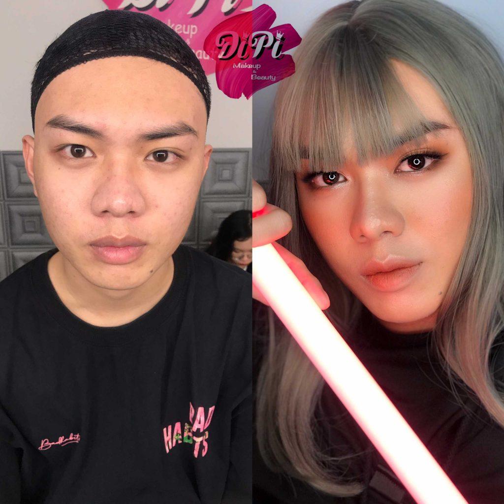 khoá học makeup cho nam