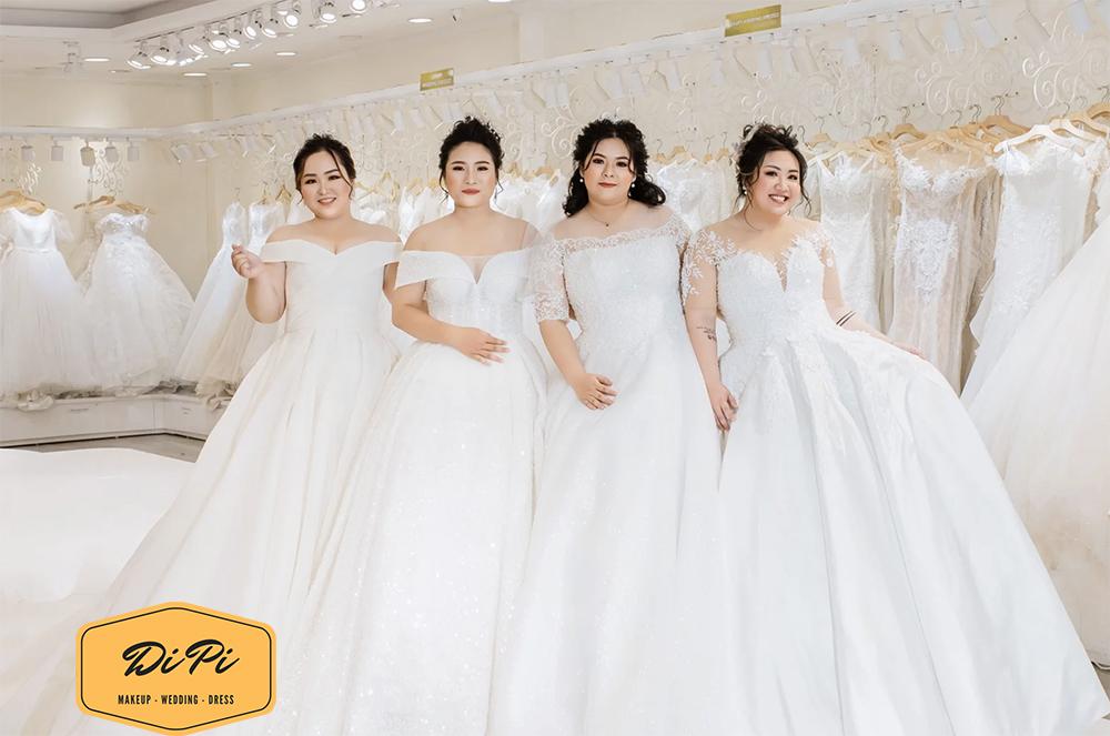 thuê áo cưới big size tại TPHCM