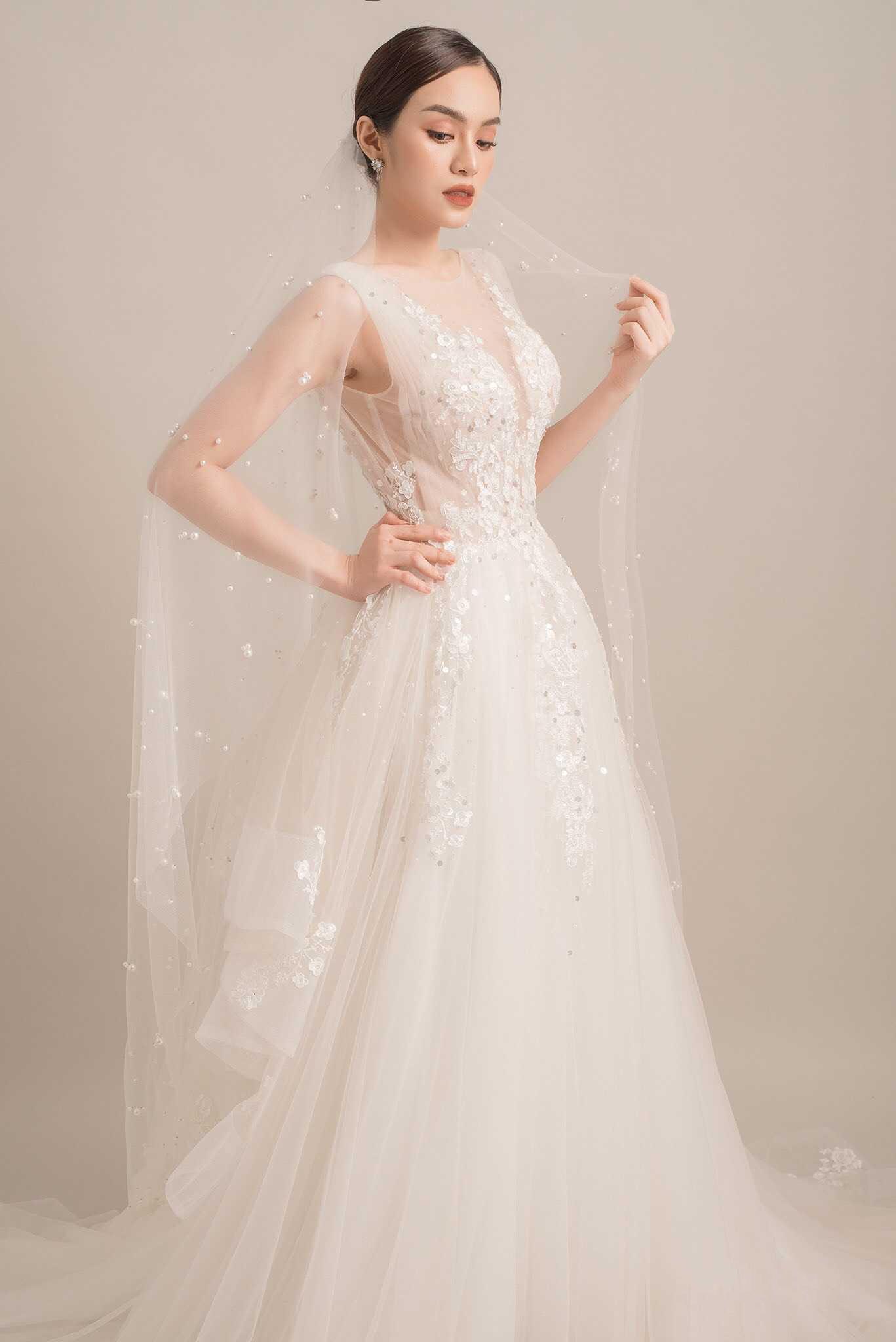 thuê áo cưới cho cô dâu ốm