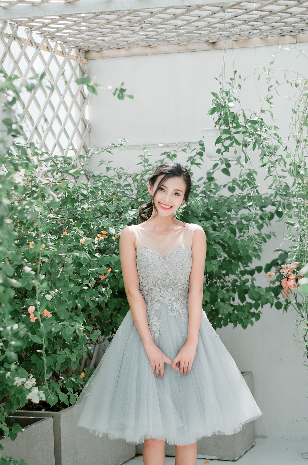 thuê áo cưới chụp ảnh studio