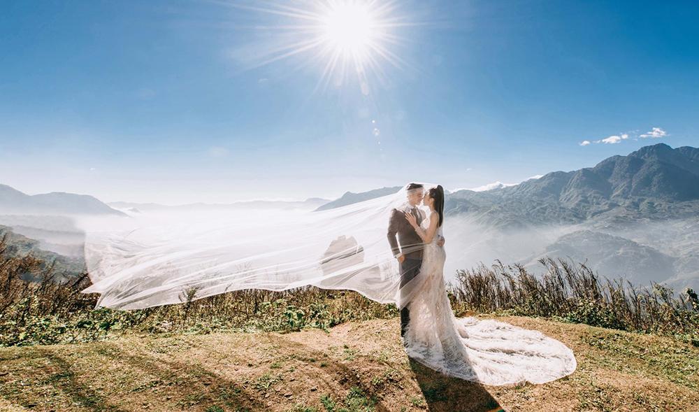 thuê áo cưới chụp hình ngoại cảnh