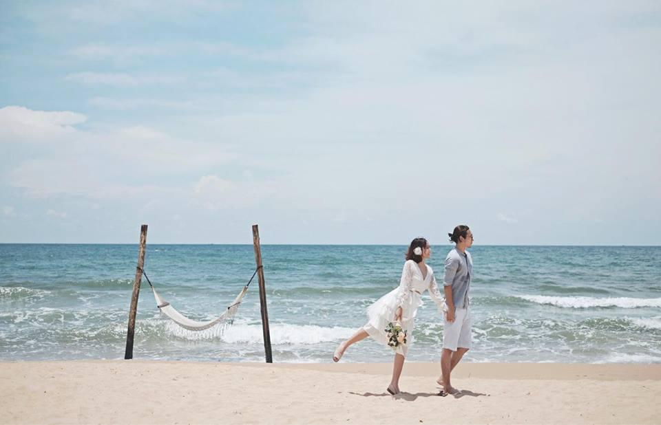 thuê áo cưới chụp hình ở biển