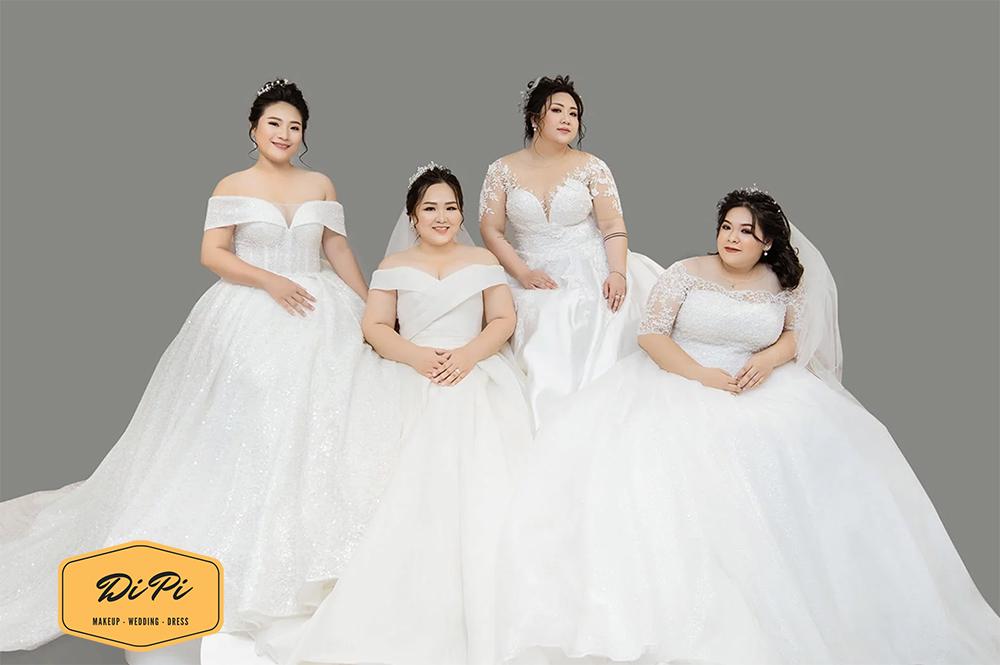 thuê áo cưới size lớn tại TPHCM