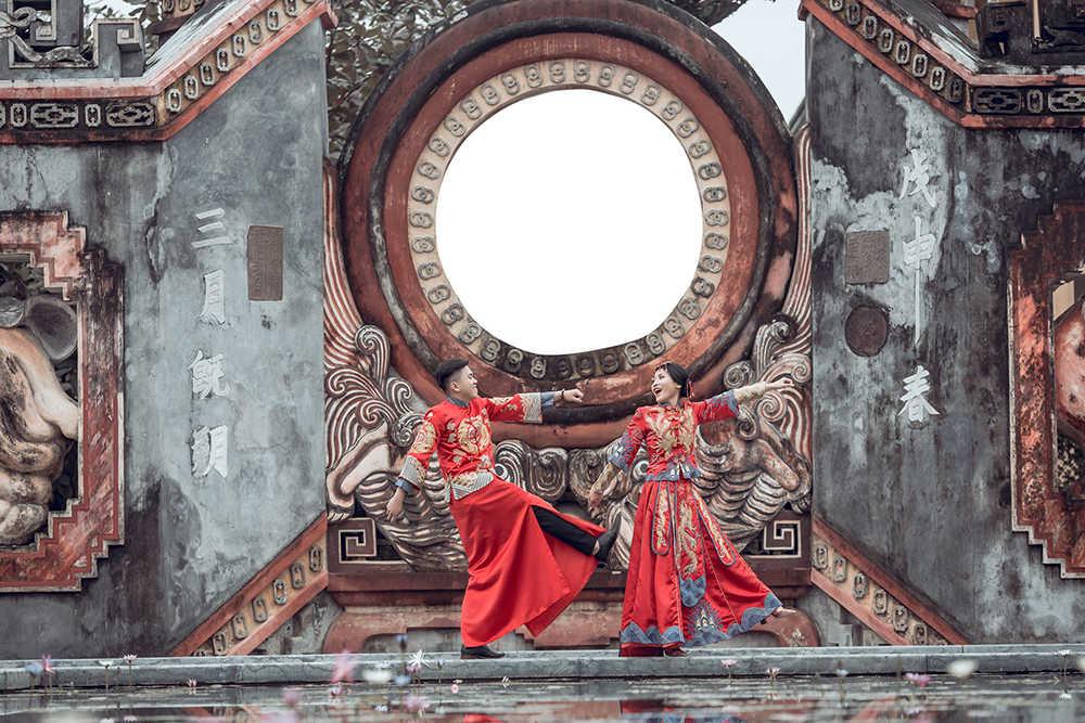 thuê áo cưới trung hoa tại Sài Gòn