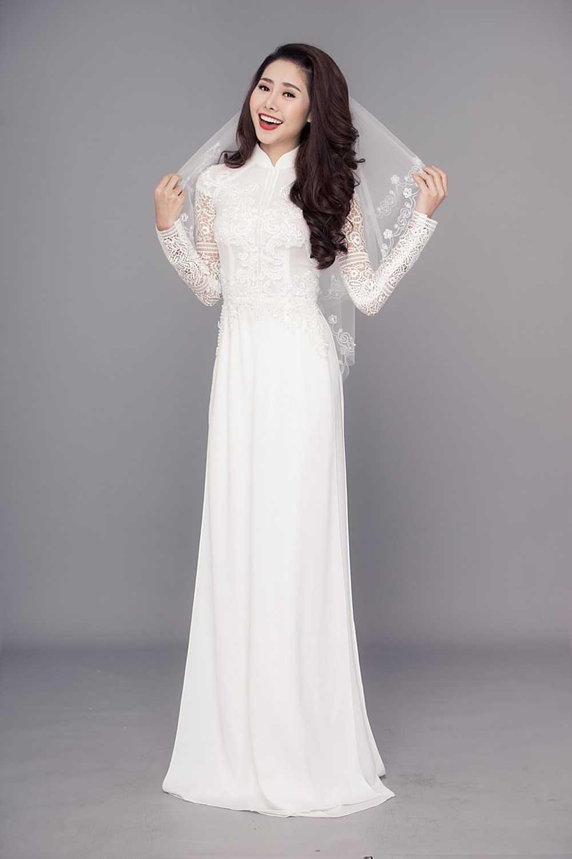 thuê áo dài cưới cô dâu