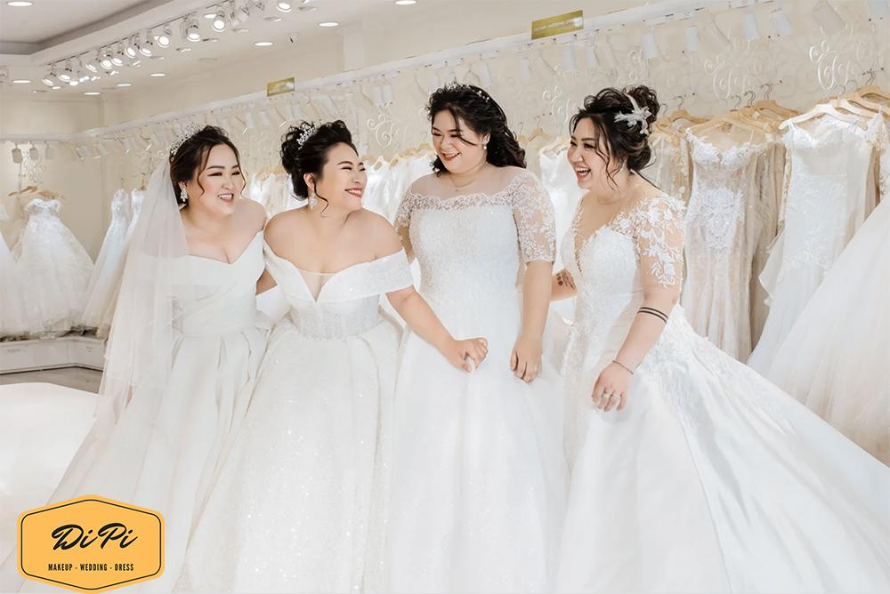 thuê váy cưới big size giá rẻ