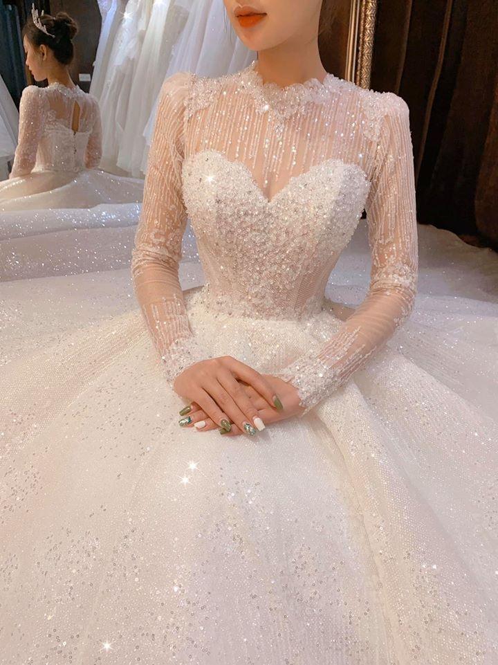 áo cưới thiết kế sài gòn