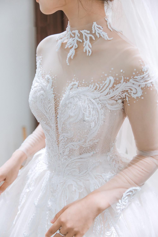 áo cưới thiết kế