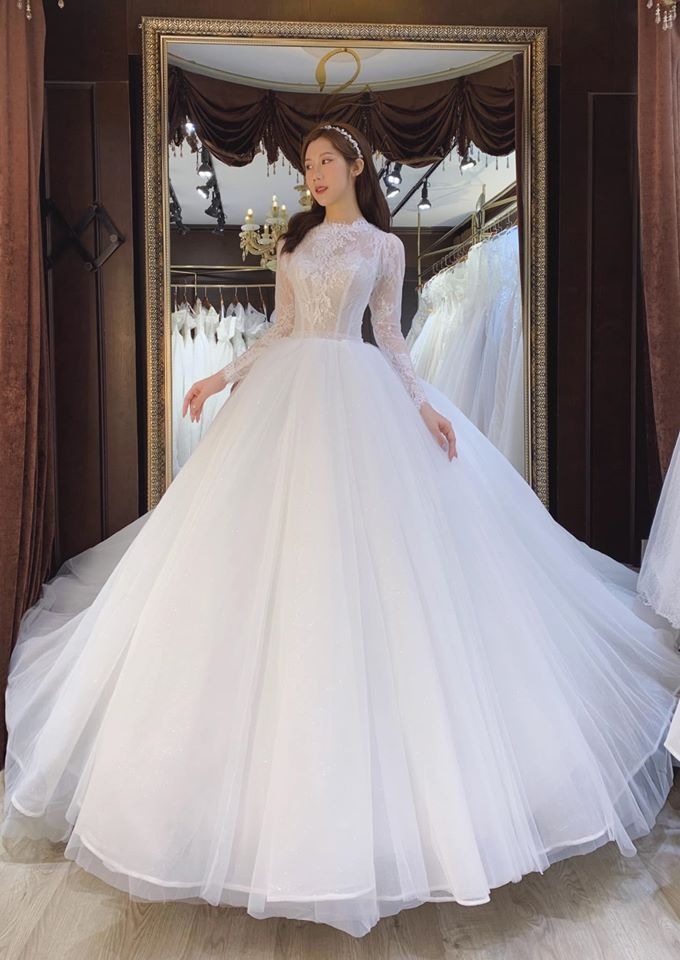 may áo cưới thiết kế