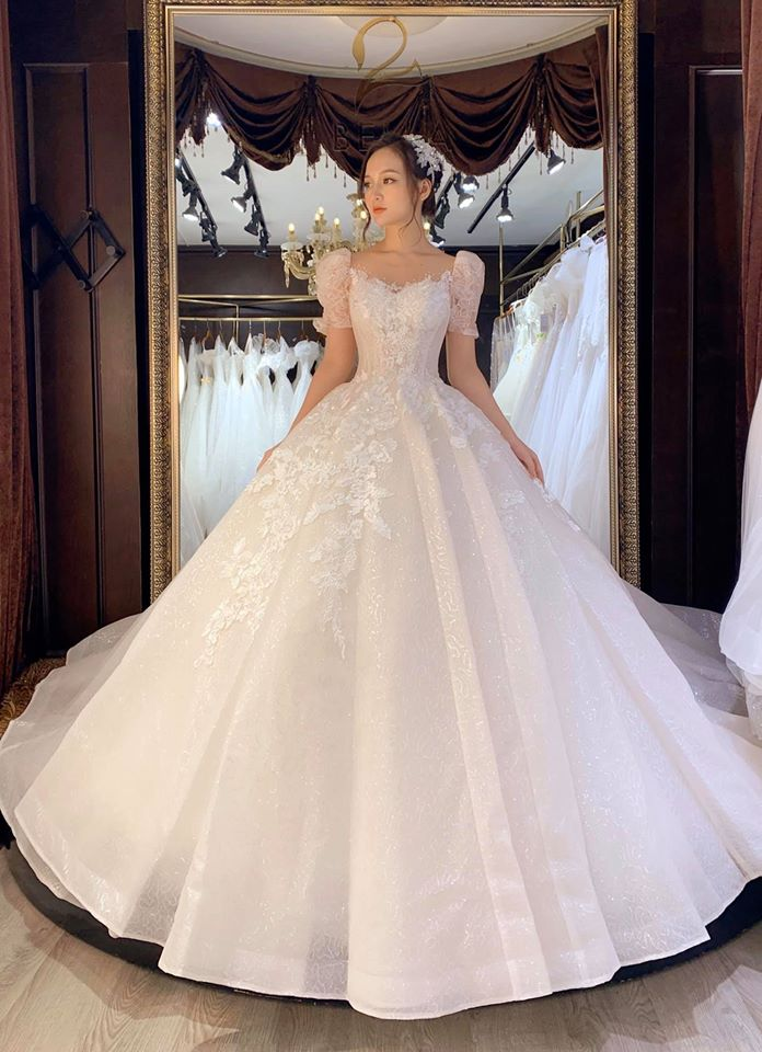 váy cưới thiết kế TPHCM