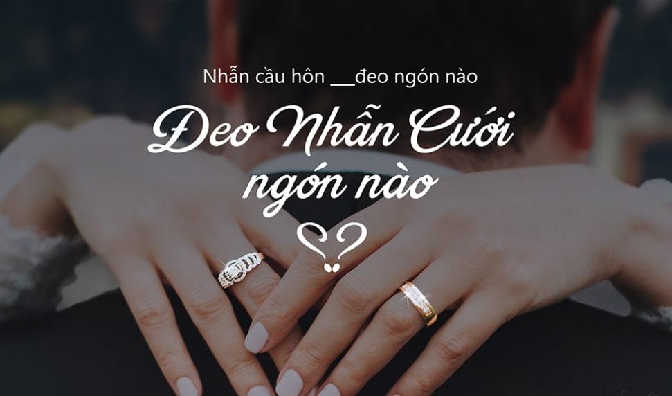 nhẫn cưới đeo tay nào