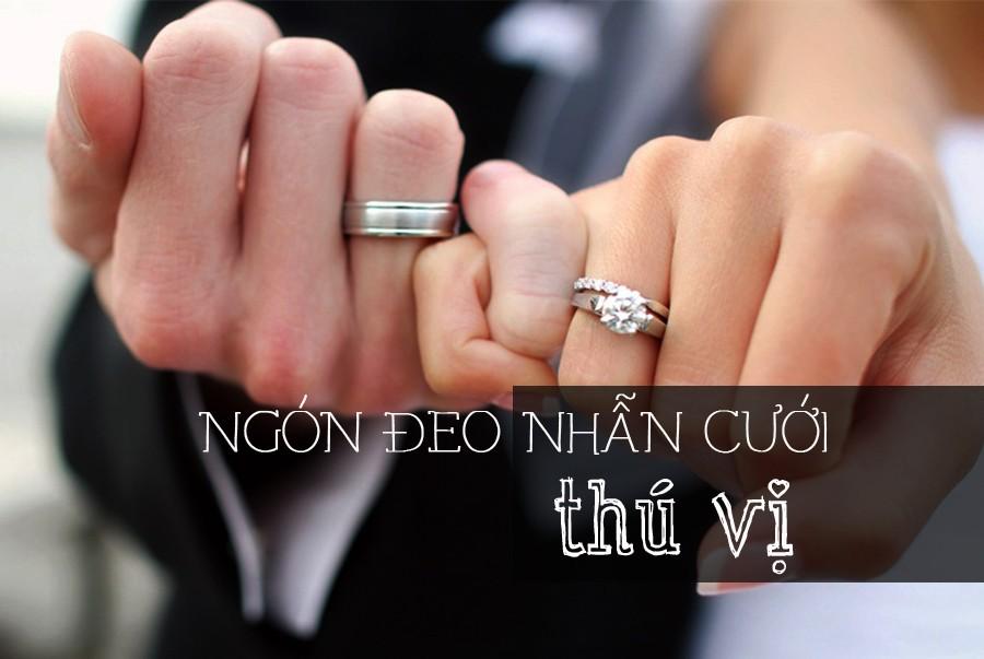 nhẫn cưới nên đeo tay nào