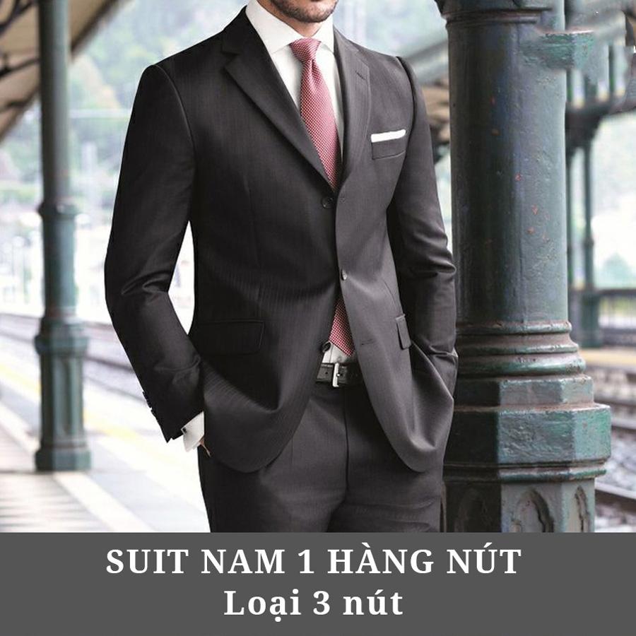 Suit nam 1 hàng nút ( loại 3 nút )