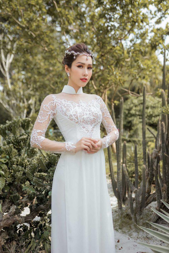 áo dài cưới cao cấp