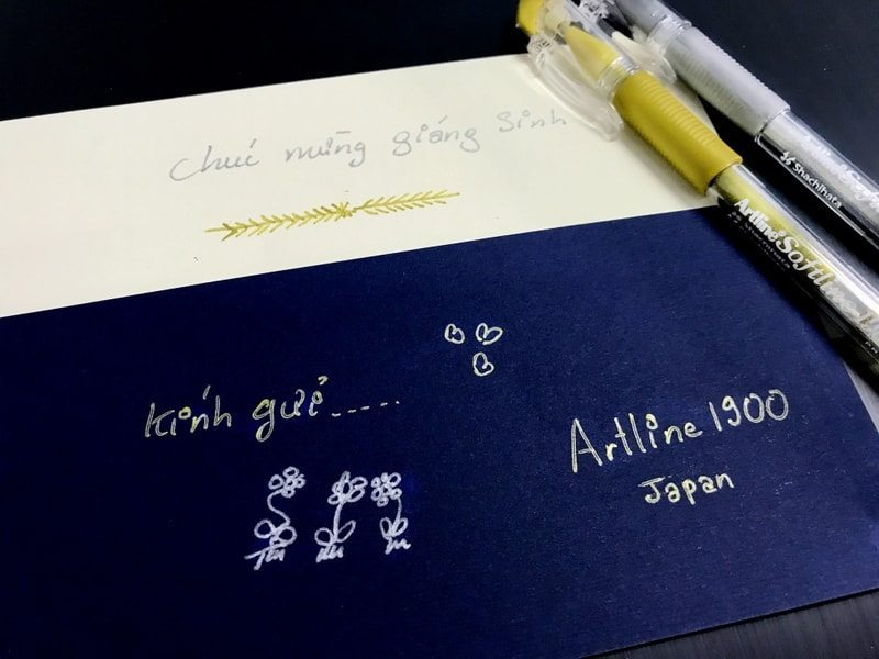 bút viết thiệp cưới đẹp