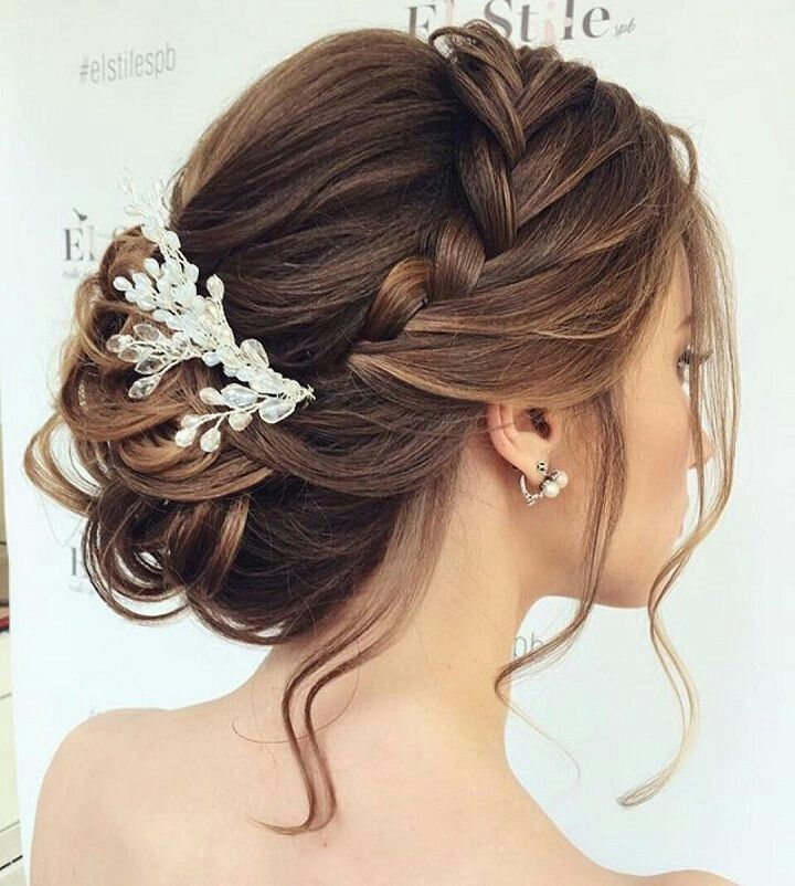kiểu tóc tết cô dâu