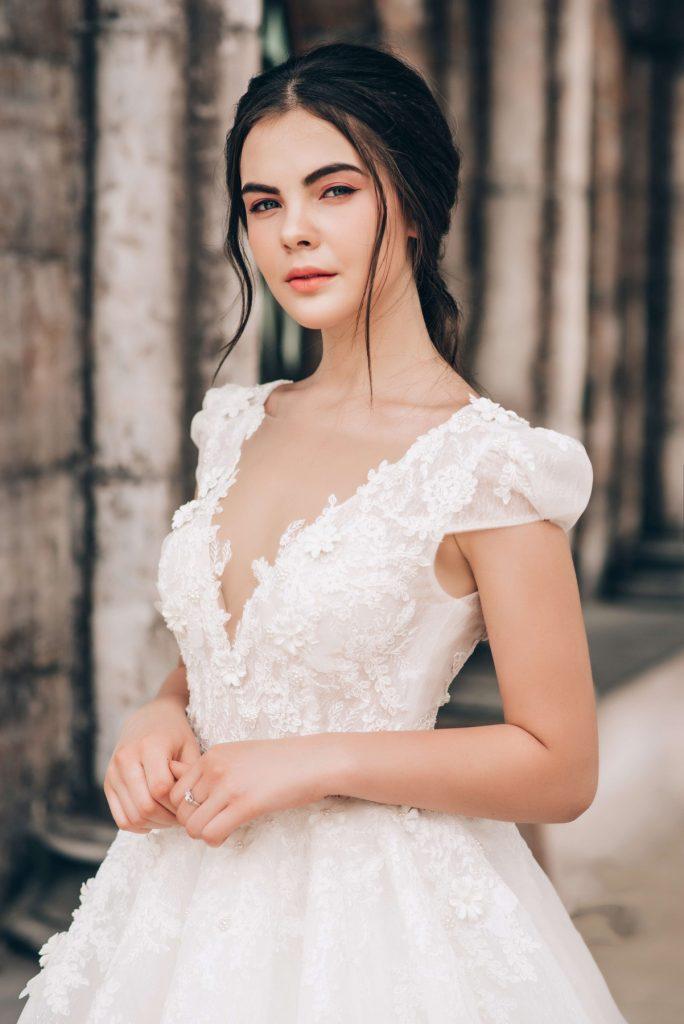 mẫu áo cưới màu trắng đẹp