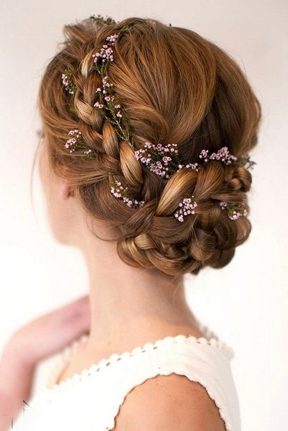 tóc tết cô dâu