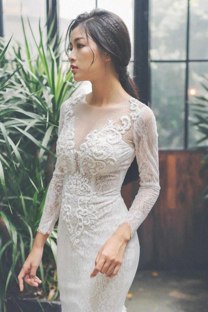 áo cưới body
