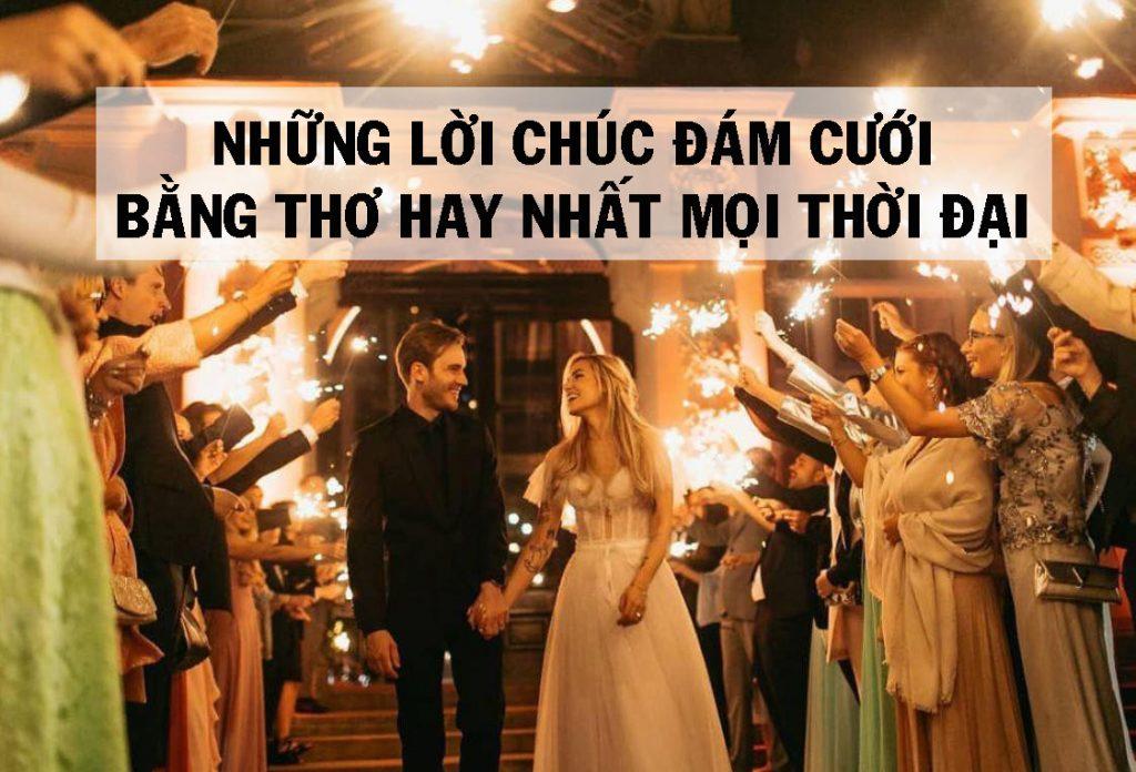 lời chúc đám cưới hay bằng thơ