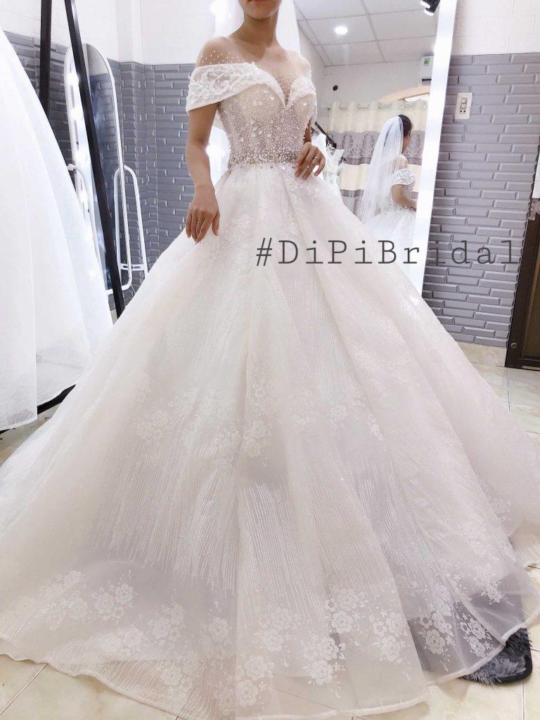 váy cưới đơn giản đẹp