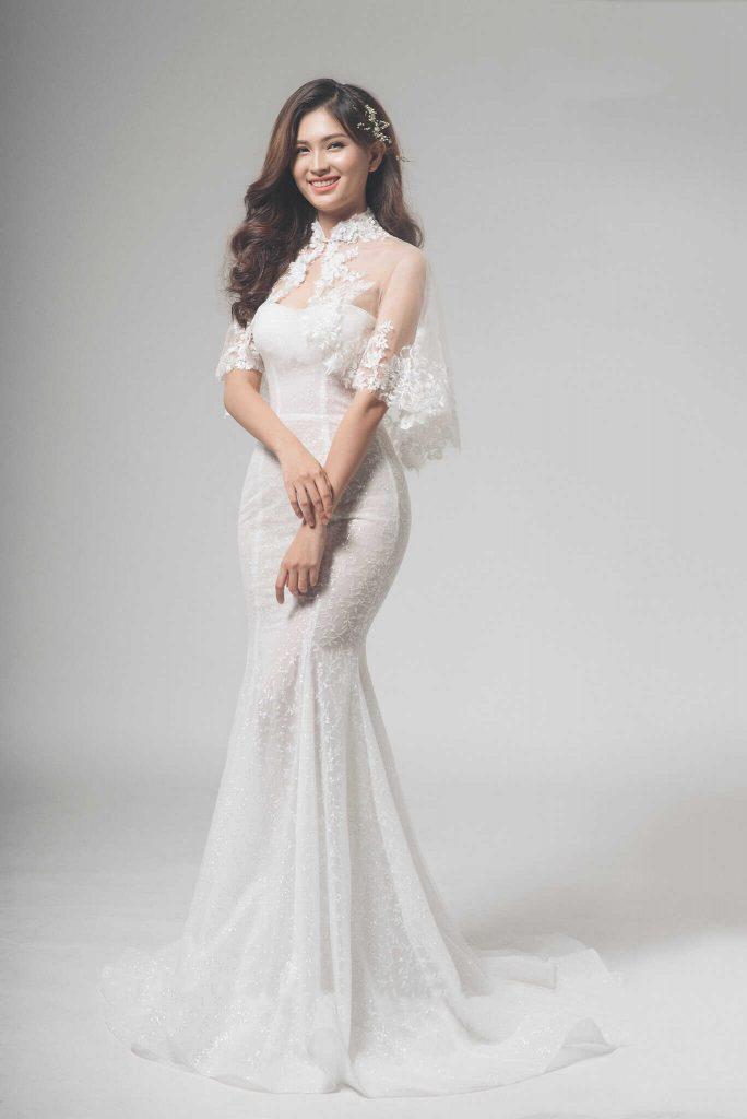 váy cưới body đẹp