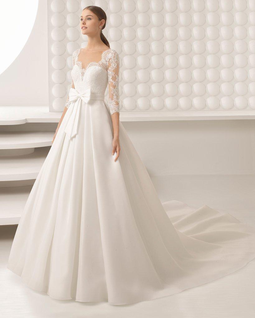 Váy cưới thanh lịch