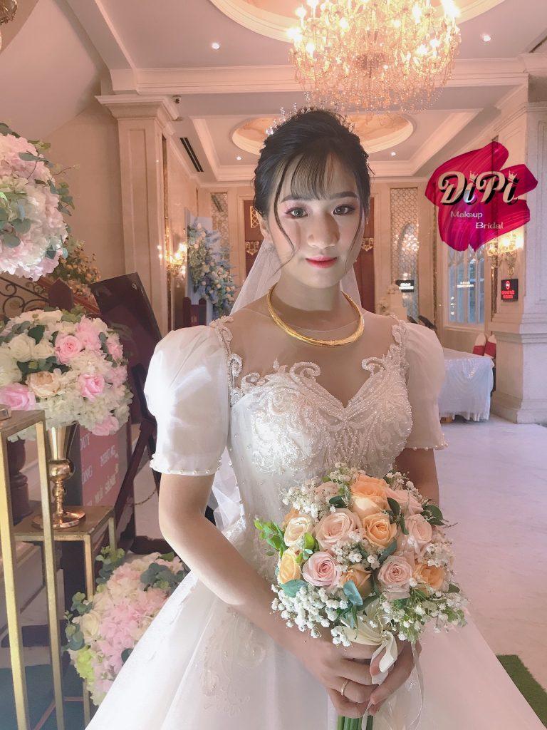 makeup cô dâu đẹp ở Sài Gòn